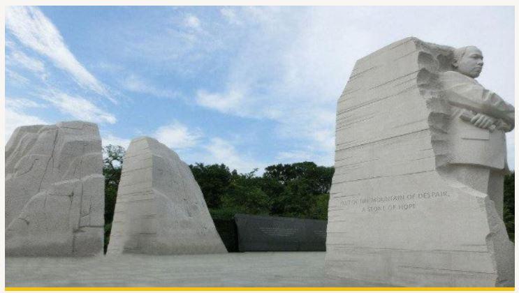 MLK Memorial in Washington DC