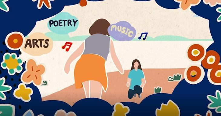 Arts-based Jewish Education Animation