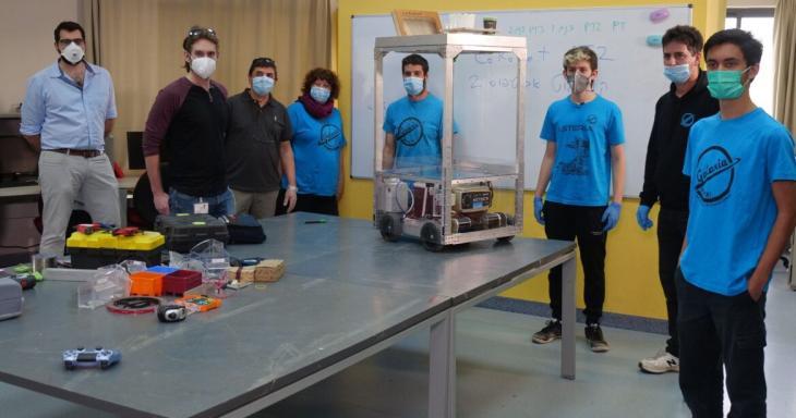 Corona Robot Image