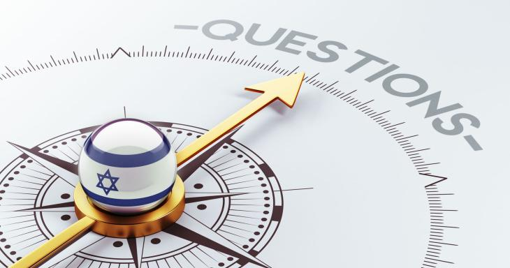 Compass pointing toward Questions