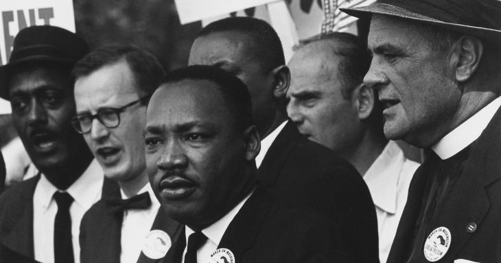 MLK speaking