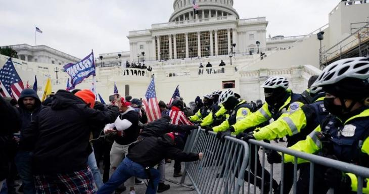Image from the Protests at the U.S. Capitol