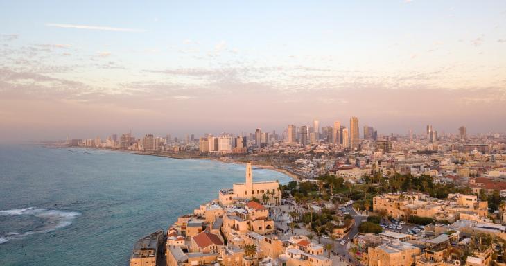 Yafo and Tel Aviv Coastline