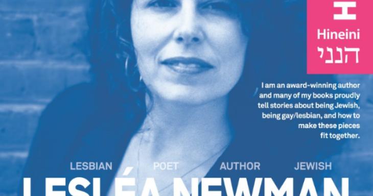 Jewish LGBTQ Hero Series Curriculum — Lesléa Newman