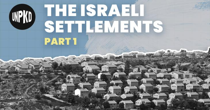 What are the Israeli Settlements?   Settlements Part 1