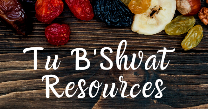 Tu B'Shvat Resources