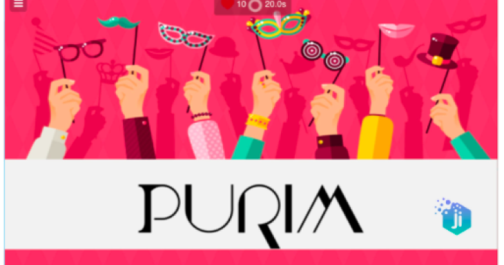 Purim Learning Fun on Ji Tap