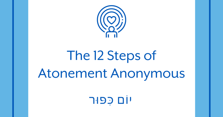 The 12 Steps of Atonement Anonymous