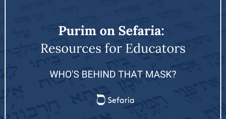 Who's Behind That Mask? Text Study and Art Activity