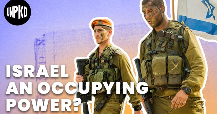 Is Israel an Occupying Power?