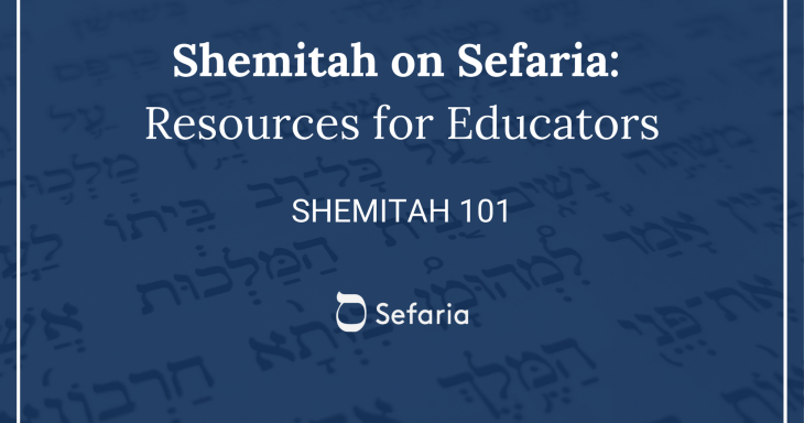 Shemitah 101