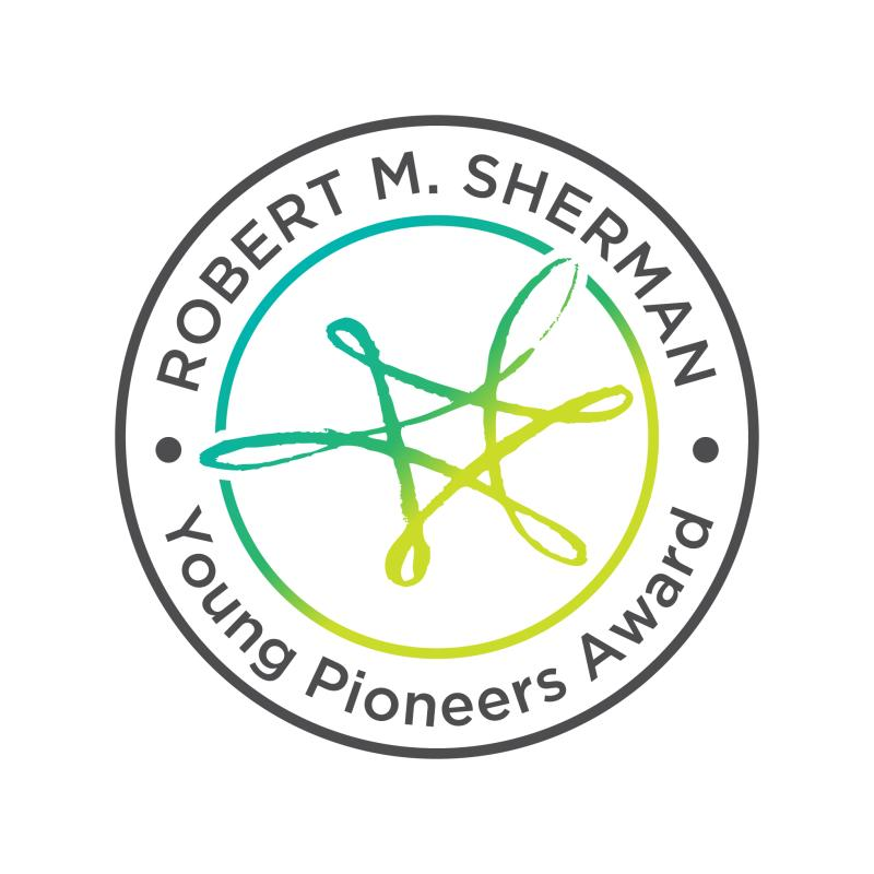 Logo for the Robert M. Sherman Young Pioneers Award