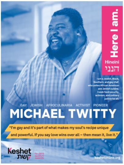 Poster of Michael Twitty