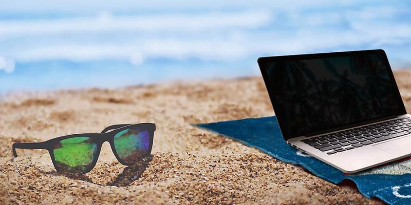 Summer Laptop