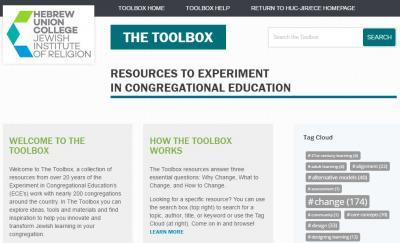 ECE Toolbox website (screen shot)