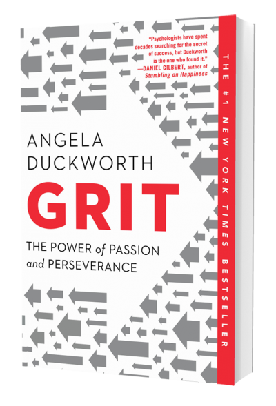 GRIT - The Power Of Passion And Perseverance - Book Cover Image