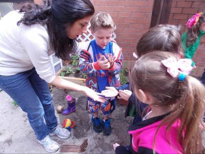 NorthShore children outside