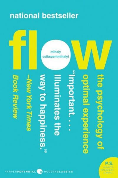 Flow The Psychology Of Optimal Experiences - Book Cover Image