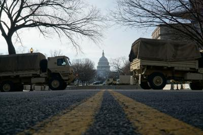 U.S. Capitol Protected by National Guard